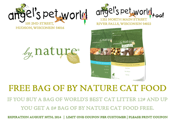 byNature_Coupon_AngelsPetWorld