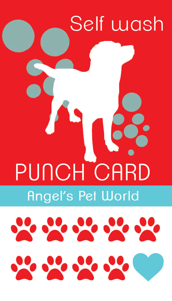 Self serve dog wash angels pet world dogwashpunchcard solutioingenieria Gallery