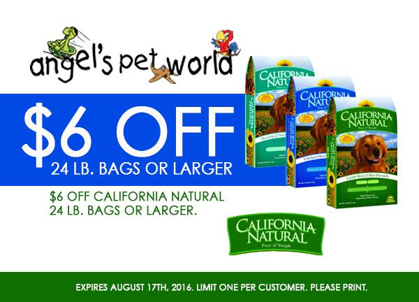California Natural Products Dog Food