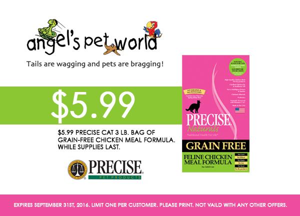 Cat-Precise pet food_Cat_Food_PetFood_Hudson_WI_Dog_Coupon_Precise_Dogfood