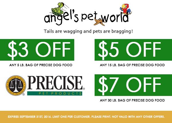 Precise pet food_Dog_Food_PetFood_Hudson_WI_Dog_Coupon_Precise_Dogfood_Grooming