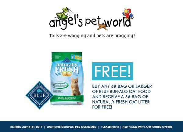 Blue Buffalo Cat Food Promo Codes