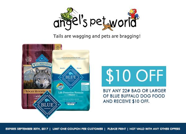 dog-Blue-Buffalo-dog-food-angels-pet-world-hudson-wi