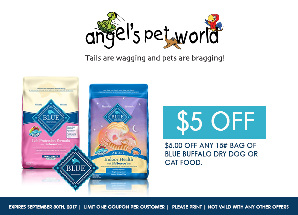 pet supply-dog-Blue-Buffalo-dog-food-angels-pet-world-hudson-wi