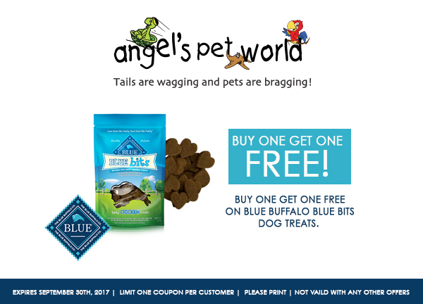 dog-treats-Blue-Buffalo-dog-food-angels-pet-world-hudson-wi