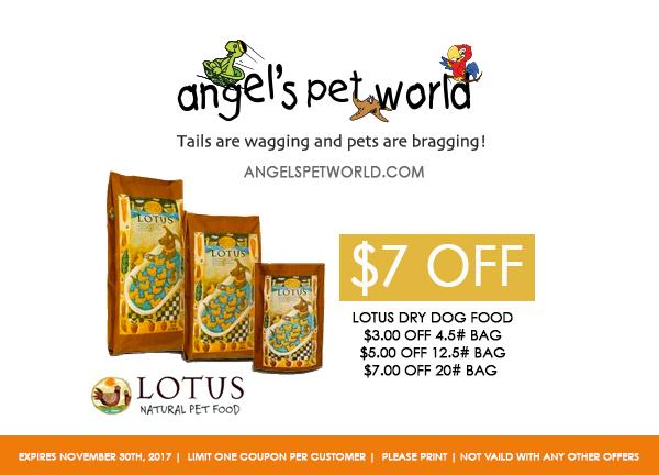 Dry dog food-Lotus-Angels-pet-world-pet-supply-hudson