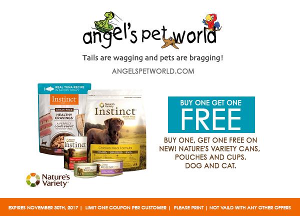 Natures Variety angels pet world pet supplies hudson wi