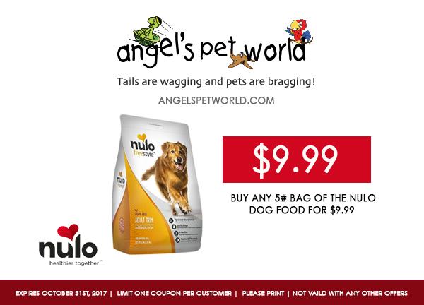 Nulo pet food angels pet world pet supplies hudson wi