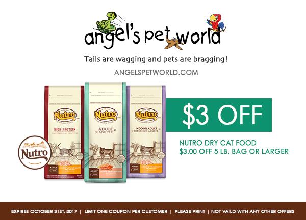 cat nutro pet food angels pet world pet supplies hudson wi