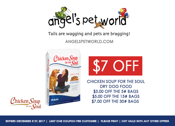 Dog-Chicken Soup for the Soul pet food angels pet world pet supplies hudson wi