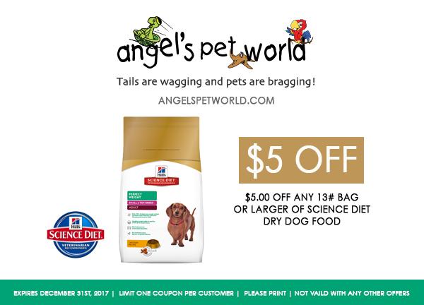 Dry Dog Food Science Diet pet food angels pet world pet supplies hudson wi