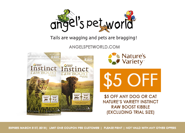Nature S Variety Instinct Raw Boost Kibble Angel S Pet World