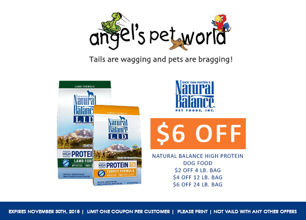 Natural Dog Food High Protein